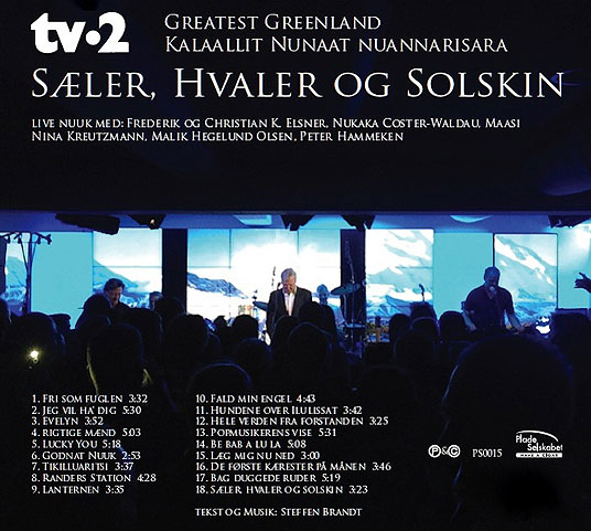 Greatest Greenland bagside cd
